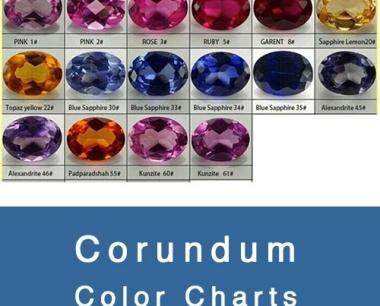 CORUNDUM COLOR CHART