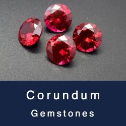 Loose Corundum Sapphire blue,Ruby Red,Alexandrite,White sapphire, Pink sapphire gemstones wholesale
