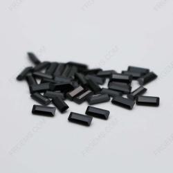Cubic Zirconia Black Color Baguette Shape 4x2mm stones CZ02 IMG_0631
