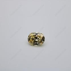Cubic Zirconia 5A Best quality Canary Fancy Yellow Oval Shape Quadrillion Cut 10x8mm stones CZ06 IMG_0566