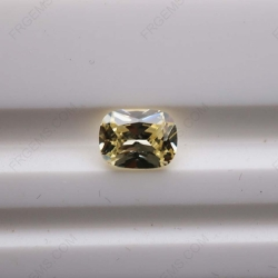 Cubic Zirconia Canary Yellow 3A Rectangle Cushion Shape diamond faceted cut 11x9mm stones CZ06 IMG_3920