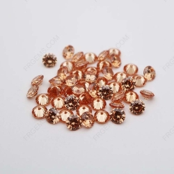 Cubic Zirconia Champagne Round Shape Faceted cut 4mm stones CZ13 China_Suppliers_IMG_1142