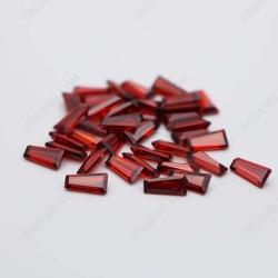 Cubic Zirconia Garnet Red trapezoid 5x3x2mm stones CZ22 IMG_0633