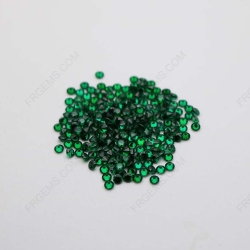 Cubic Zirconia Green Round diamond Faceted Cut 2.00mm Melee stones CZ35 IMG_1009