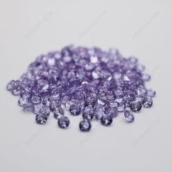 Cubic Zirconia Lavender Round Shape Faceted cut 4mm stones CZ08 IMG_0350