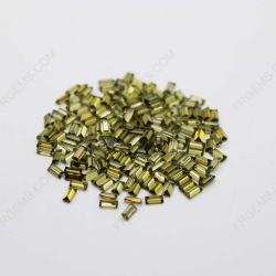 Cubic Zirconia Peridot Baguette Step cut 4x2mm stones CZ27 IMG_1087