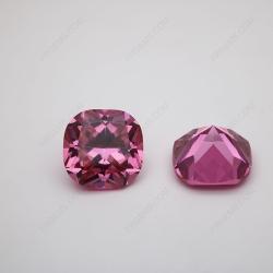 Loose Cubic Zirconia Pink Cushion Shape 18x18mm stones CZ03 IMG_1334