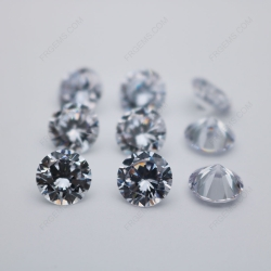Cubic Zirconia White Color 3A Quality Round Shape Diamond Faceted Cut 10mm stones CZ01 IMG_0247