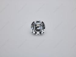 Cubic Zirconia White Color 5A Best Quality Cushion Shape Asscher Cut 10x10mm stones CZ01 IMG_0575