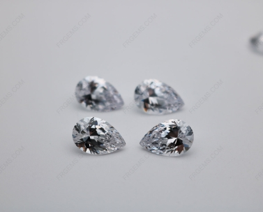 Cubic Zirconia White Color 5A Best Quality Pear Shape 10x7mm stones CZ01 IMG_0672