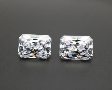 Cubic Zirconia White Color 5A Best Quality Radiant Cut 14x10mm stones CZ01 IMG_0556
