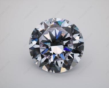 Cubic Zirconia White Color 5A Best Quality Round Shape Heart Arrow Cut 15mm stones CZ01 IMG_0437
