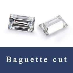 Baguette shape Loose Cubic Zirconia and synthetic Gemstones Baguette cut China Wholesale and Supplier