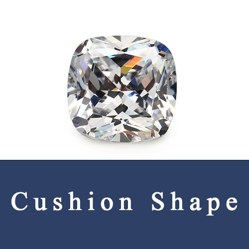Cushion Cuts Loose Cubic Zirconia and Cushion Shape Synthetic Gemstones China Wholesale and Supplier