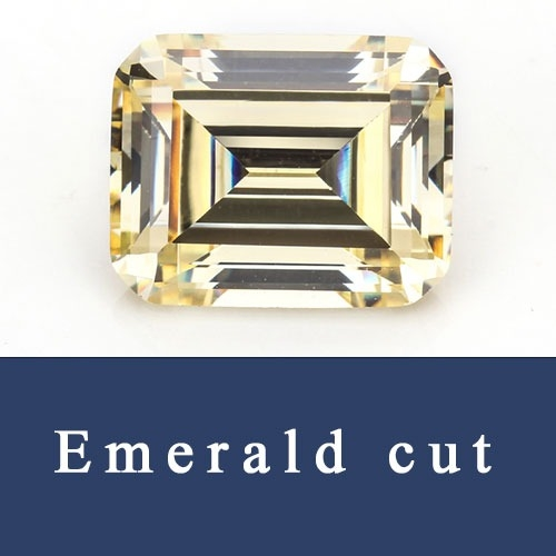 Emerald Cut Loose Cubic zirconia and Synthetic Ruby & Sapphire Corundum Gemstones China Wholesale and Supplier