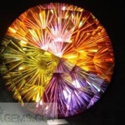 Large Sunflower cubic zirconia,Big Crytal Round Diamond Cut Gemstones China Wholesale and Supplier