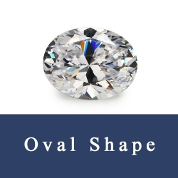 Oval Shape Loose Cubic Zirconia and Synthetic Natural Gemstones China Supplier and Wholesale