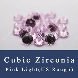 Light pink Cubic Zirconia 5A AAAAA Best quality gemstones for sale