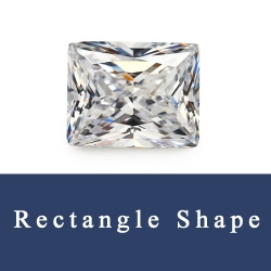 Rectangle Princess Cut Cubic Zirconia Synthetic and natural Gemstones China Wholesale and Suppliers.
