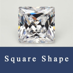 Cubic Zirconia CZ Princess cuts Stones and Princess cuts Loose CZ Stones China Wholesale and Supplier