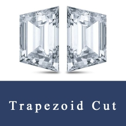 Trapezoid Princess brilliant cut and Emerald Step cut Trapezoid Cubic Zirconia Gemstones China Wholesale and Suppliers