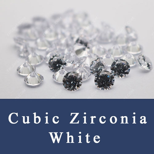 Cubic Zirconia White Round AAA,Loose CZ White AAA Quality Stones China Wholesale and Supplier
