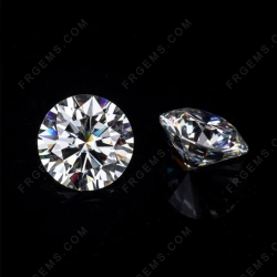 Loose Moissanite D EF color Round Shape faceted brilliant diamond cut gemstone wholesale from China Supplier