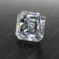 Loose Moissanite D EF GH Color Asscher cut gemstone wholesale from China Supplier