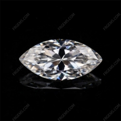 Loose Moissanite D EF color Marquise Shape gemstone wholesale from China Supplier