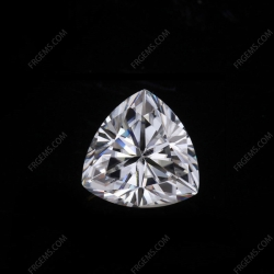 Loose Moissanite D EF color Trillion Shape faceted cut gemstone wholesale from China Supplier