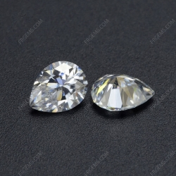 Loose Moissanite D EF color Pear Shape gemstone wholesale from China Supplier