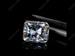 Loose Moissanite D EF color Octagon Shape Radiant cut gemstone wholesale from China Supplier