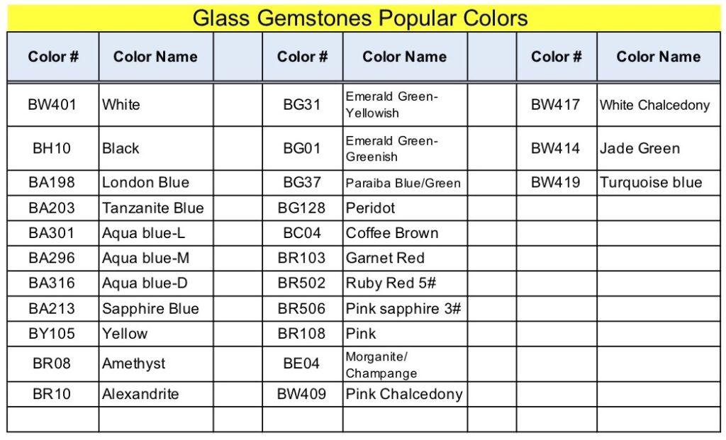 Glass-Popular-Colors-Names