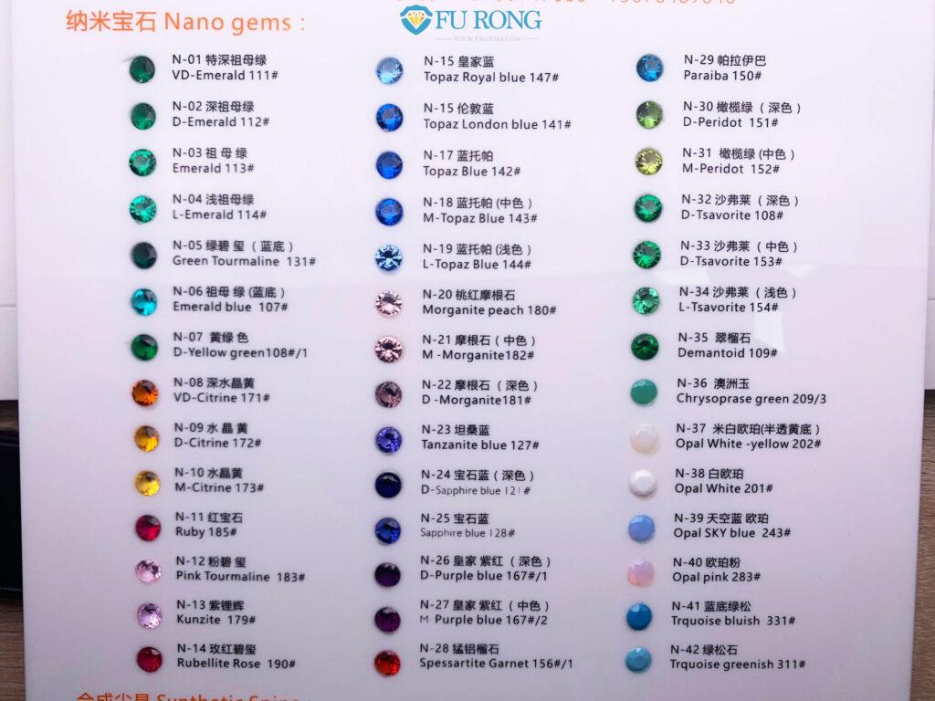 Nano-Popular-Colors-Chart-FU-RONG