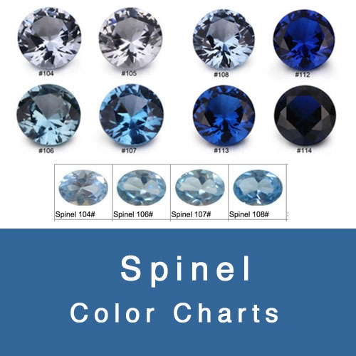SPINEL COLOR CHART