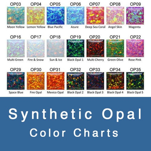 SYNTHETIC OPAL COLOR CHART