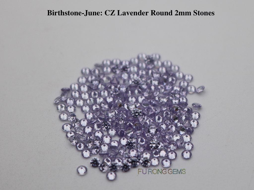 June-CZ-Lavender-Birthstone-2mm-Round-Stones