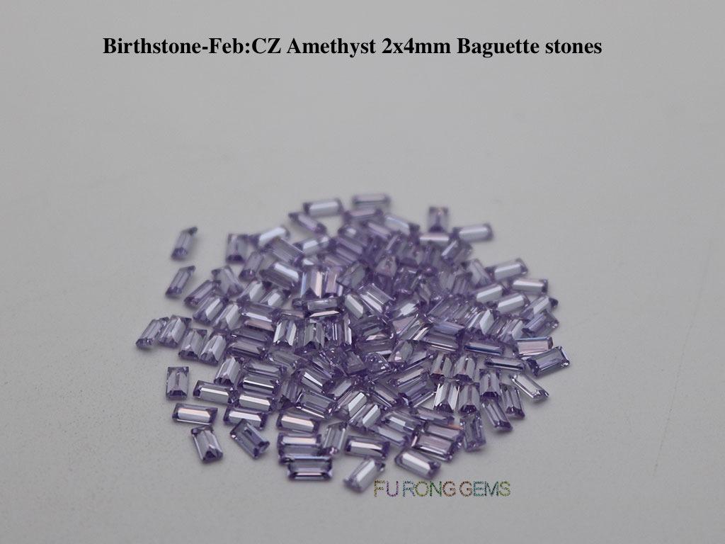 June-CZ-Lavender-Birthstone-2x4mm-baguette-Stones