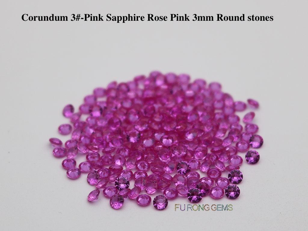 Lab-Created-Pink-Sapphire-Tourmaline-3-Rose-Pink-Color-Round-3mm-Gemstones-wholesale