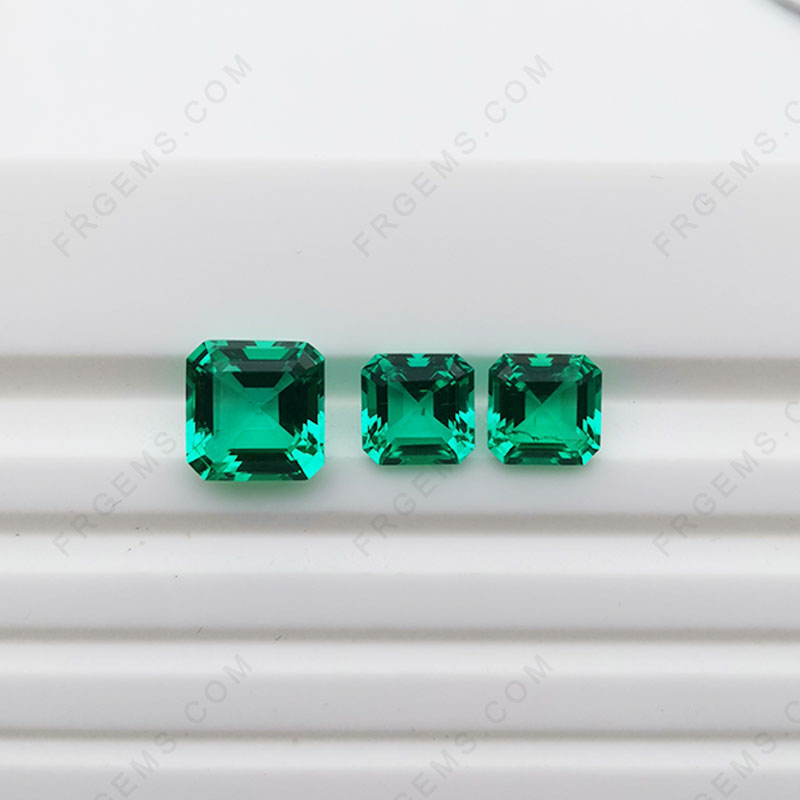 Lab Created Emerald-Hydrothermal Emerald-Synthetic Created Emerald Emerald Green Gemstones China Suppliers and Wholesale