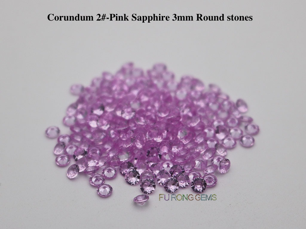 Lab-Synthetic-Pink-Sapphire-Tourmaline-2-pink-Color-Round-3mm-Gemstones-Suppliers