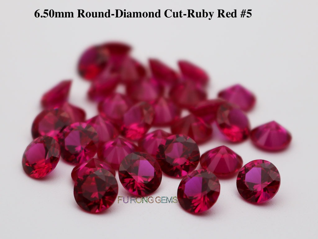 Lab-created-Synthetic-Ruby-Red-5-Round-6.5mm-Gemstones-for-sale
