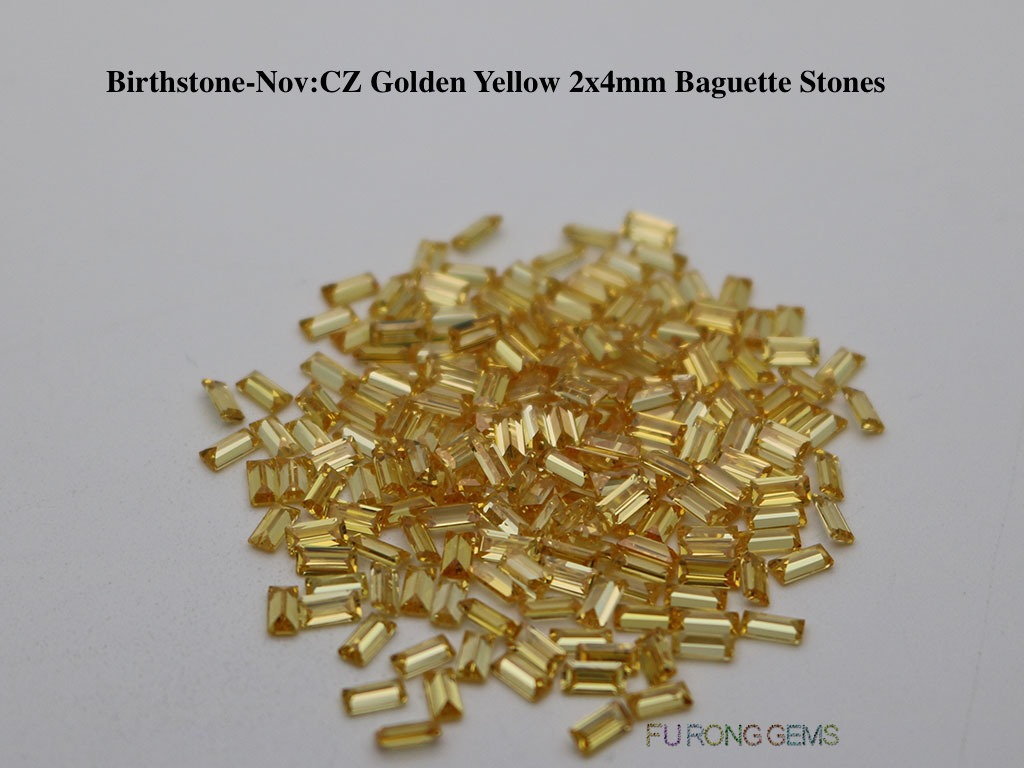 Nov-CZ-Golden-Yellow-Birthstone-2x4mm-baguette-Stones
