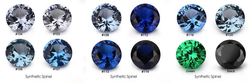 Spinel-Gemstones-Color-Chart-China-Factory