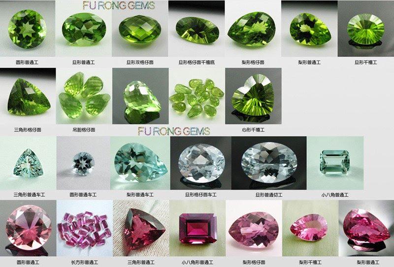 Natural-Olive-Peridot-gemstones-Shapes-FU-RONG-GEMS