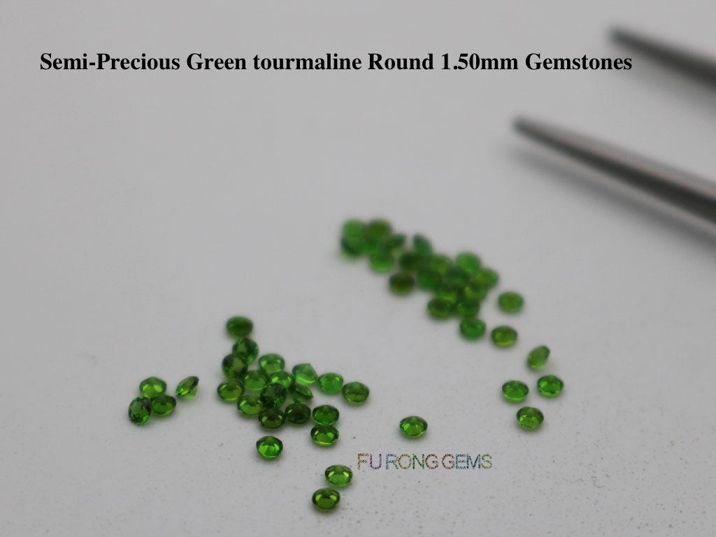 Natural-Semi-precious-Green-Tourmaline-Color-Round-1.50mm-Gemstones-Supplier