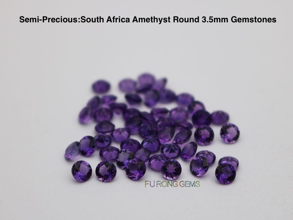 Natural-South-Africa-Amethyst-Round-3.50mm-Gemstones-China-factory
