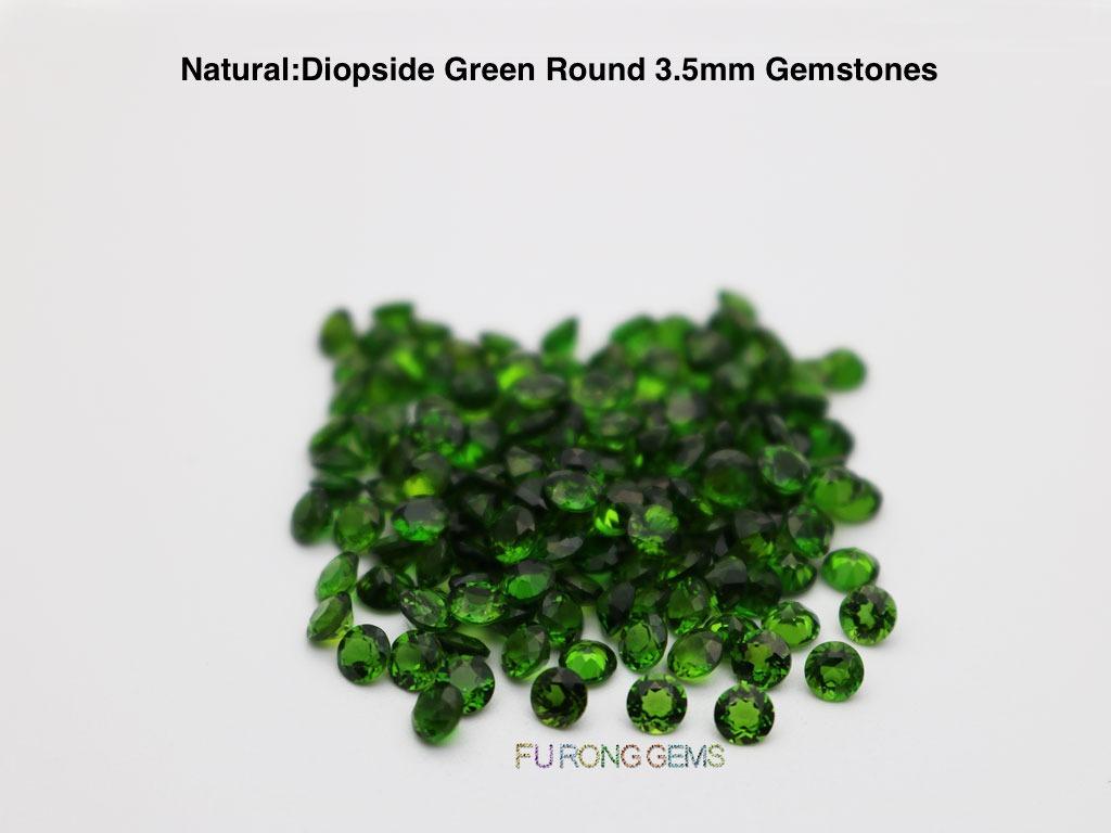 Natural-diopside-green-Round-3.50mm-Gemstones-China-wholesaler