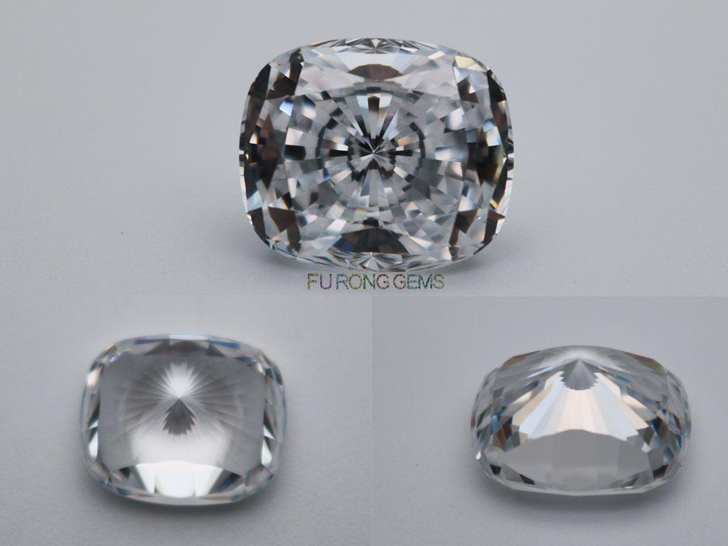 Rectangle-Cushion-Shape-Quadrillion-cut-White-Clear-Color-Cubic-Zirconia-CZ-Gemstones-wholesale