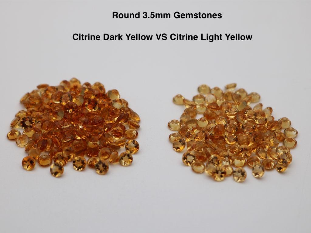 Semi-precious-Natural-Citrine-Yellow-Dark-VS-Light-Color-Round-3.5mm-Gemstones-China